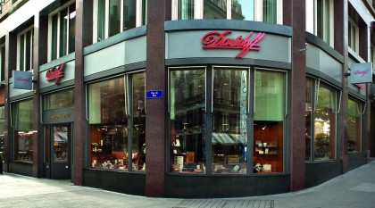 100th anniversary of the original Davidoff store in Geneva and new CEO Hans-Kristian Hoejsgaard